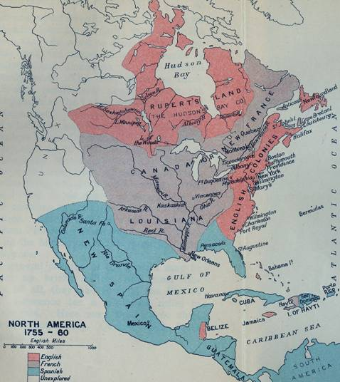 the british control of north america after the end of the seven years war and fall of new france The war was successful for great britain, which gained the bulk of new france in north america, spanish florida, some individual the seven years' war was perhaps the first true world war the boundary between british and french possessions in north america was largely undefined in the.