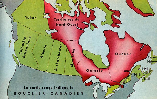 Canadian Geography Geography Of Canada - Canada geography map