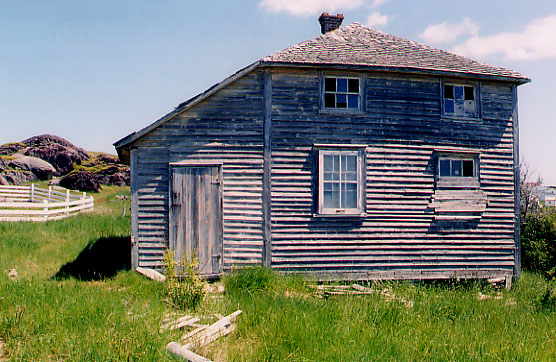 Architecture Of Newfoundland Hipped Saltbox With Linney