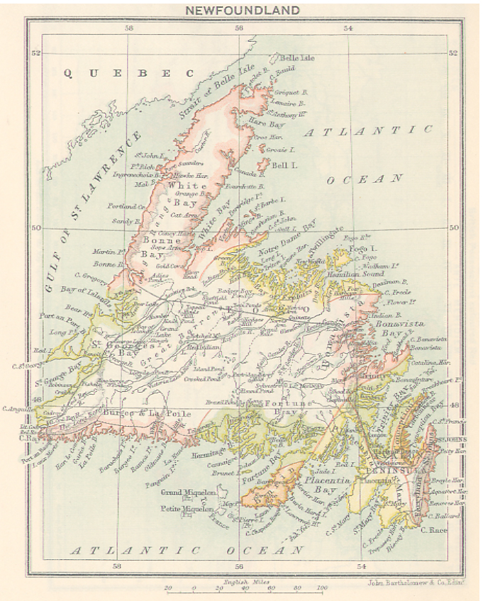 Newfoundland Geography  Newfoundland History